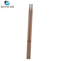 Wholesale Top Quality Pair of A Walnut Drumsticks Set Drum Sticks Lightweight Professional Percussion Instrument Parts amp Accessories