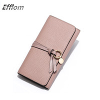 Wholesale Brand Fashion Women Wallet Long Design Circle Pedant Fringe Genuine Leather Cute Female Wallet Purse with Credit Card Holder