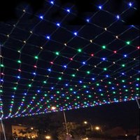 Wholesale 96 LEDS M M LED Net Light String Light Holiday Lights Christmas Lights Wedding Party