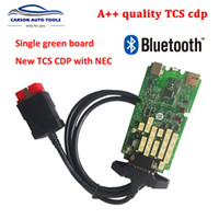 Wholesale 2017 New TCS cdp Single Green PCB board KEYGEn Software with Bluetooth Keygen for Car and Trucks Diagnostic Tool