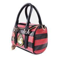 Wholesale Harry Potter Hogwarts Crest Satchel w Zippered Purse and Metal Charm Handbag with Tag Free Express
