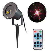 Wholesale Outdoor Laser Christmas lights Waterproof Red and Green Laser star lighting Garden Yard Decoration Lawn Snowflake Projector
