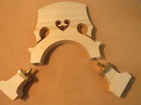 acoustic double bass - High quality regulated double bass bridge cupreous parts
