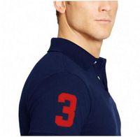Wholesale 2017 Big horse brand tee polos shirt men shirts short sleeve casual style masculina camisetas sportswear for ralp me shirts