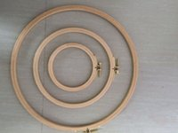 aluminum hoops - Different Sizes Dia28 cm Wooden Embroidery Hoops Hand DIY Cross Stitch Embroiderying Tool Household Sewing Tool