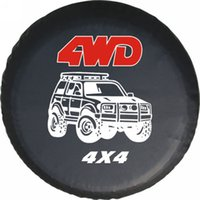Wholesale Black Spare Tire Cover Fit For Mitsubishi Wheel Tire Cover Heavy vinyl Tire Cover