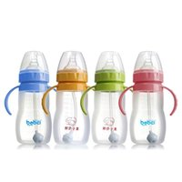 Wholesale Update durable baby diaper for children ml silicone suction cups whole arc automatic four color bottle mamadeira training