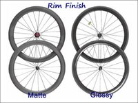 Wholesale Carbon Single Rim c mm Dept mm Wide Carbon Clincher Road Bike Rim super Cheap