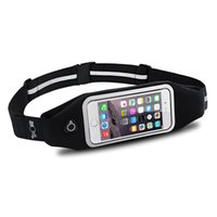 Wholesale Running Belt OMorc Waterproof Sports Running Jogging Gym Exercise Running Belt Waist Pack For iPhone s iPhone SE Samsung Galaxy S6 S