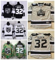 ashes series - 2016 Los Angeles Kings Hockey Jerseys Jonathan Quick Jersey Stadium Series Jonathan Quick Silver Ash Grey Stitched Jerseys