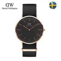 Wholesale Daniel Wellington Wrist Watch Men Top Brand Luxury Famous Wristwatch Male Clock Quartz Watch Quartz watch