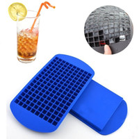 Wholesale 160 Grids DIY Creative Small Ice Cube Mold Square Shape Ice Cream Tools Silicone Cube Ice Maker Bar Kitchen Accessories