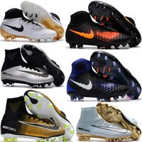 Cheap Soft Spike Magista Obra Best Unisex Outdoor Mercurial Superfly V CR7