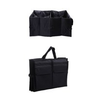 Wholesale Car Organizer New Multipurpose Trunk Pouch Car Glove Box Storage Cubby Box Collapsible Tidy Car Bag