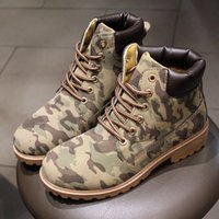 2016 Mode Hommes Femmes Chaussures d'hiver Casual Work Tooling Chaussures Outdoor Womens Winter Bottes Men Plus Size