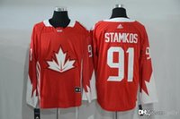 Cheap 2016-2017 Mens Team Canada Stamkos 91 Red Olympics World Cup Hockey Ice NHL Jerseys Free Drop Shipping gally