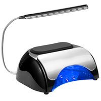 Wholesale 48W LED UV Nail Dryer Nail Lamp for Gel Polishes with Automatic Sensor Double press the s timer button to turn USB Light