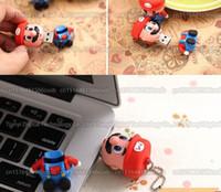 16 Go / 32 Go / 64 Go / 128 Go / 256 Go Capacité réelle Mario Cartoon Pilote USB / pendrive / memory stick / USB Disque de stockage externe / disque U