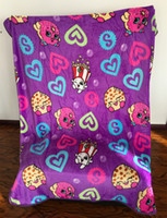 Wholesale Latest quot Kins quot Cartoon Strawberry Popcorn Throw Blanket Soft Comfy Travel Blanket Thicker Coral Velvet Blanket quot x quot