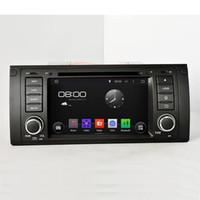 achat en gros de x5 canbus-Pure Android 4.4.4 A9 dual-core 1.6G 1 din 7inch capacitif écran tactile lecteur DVD avec canbus pour BMW M5 E39 1995-2003 X5 E53 2000-2007