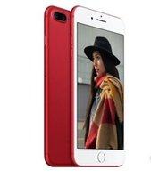 Android couleur email Prix-Rouge Goophone i7 plus 1G + 4G quad-core réseau 3G peut afficher 4G LTE afficher 1g / 128g affichage à cristaux liquides déverrouiller téléphone cellulaire PK S8 EDGE téléphone