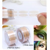 adhesive mesh tape - pairs mesh skin color eye adhesive tape eyeliner double eyelid paste pads tape tool sticker for the eyes