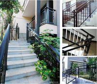 Wholesale Minghua Brand Zinc Steel Handrail Don t be Corrosion Fence Stair Handrail Seven Colours Zinc Steel Stair Guard Bar
