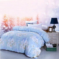 Wholesale New Arrival Elegant Floral Quilt Warm Winter Comforter Household Hotel Quilting Duvet Blanket CM JQ0055