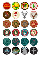 Wholesale Christmas buttons chunks DIY Hot Sale mm mm mm glass Snap Button Glass Ginger Snap Button Fit Charm Bracelet Jewelry