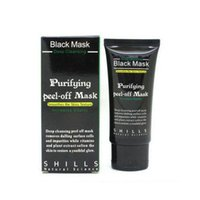 Face acne treatment face - Hot Selling ml SHILLS Deep Cleansing purifying peel off Black mud Facail face mask Remove blackhead facial mask Smooth Skin Shills Masks