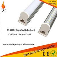 Wholesale 18w T5 M smd2835 Led Tube Light Leds Led lighting Fluorescent Tubes Lamp lights