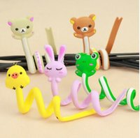 apple bobbin - Cable Winder for iPhone Samsung MP3 MP4 Kawaii Cord Line Plug Headphone Bobbin Winder Organizer Gift DHL Free