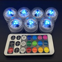 Wholesale Hot pc LED Candle Light Waterproof Change To The Battery Remote Candle Discus Light Festival Home Decor