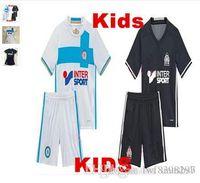 Wholesale football jerseys Olympique de Marseille kids jerseys Batshuayaillot de Foot Payet Ocampos Lass Home Camisa Rugby Shirti M