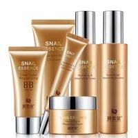 Wholesale Genuine Pibu Church snail cream sets of makeup skin care package women face care cosmetics moisturizing