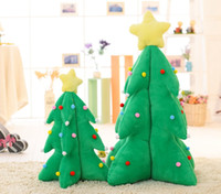 Wholesale Christmas gift light music the plush toys Large decorating the Christmas tree