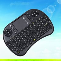 Wholesale I8 Mini Wireless Keyboard ghz English Air Mouse Touchpad Remote Control For Android TV Box and Tablet Mini PC