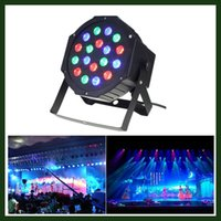 auto delivery - Fast Delivery LED Par Lights for Stage Lighting with RGB Magic Effect by Remote Control and DMX512