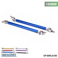 Wholesale TANSKY Universal SET mm Adjustable Front Bumper Lip Splitter Strut Rod Tie Support Bar For Ford EP BWLG150