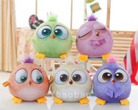 Wholesale 2016 burst angry cute colored bird big movie doll pillow plush toy birthday gift send the child to send his girlfriend