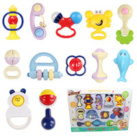 Wholesale Infant Baby Handbell Playset for Kids Pretend Play Toys ABS Material Children Educational Toys T0101 yaolingtaozhuang