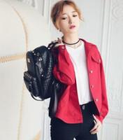 Wholesale In the autumn of new ladies jacket windbreaker jacket wintr winter women s casual female coat