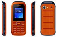 DHL Le vendeur paie / Livraison gratuite Téléphone bon marché de téléphone de bonne qualité double SIM avec le logo déverrouille le téléphone, téléphone mobile de joueur de GSM 2MP FM Mp3.