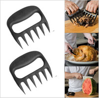 Wholesale Grizzly Paws Meat Handler BBQ Tool Set Bear Claws Meat Fork Barbecue Tongs Pull Shred Meat Fork Food Grade