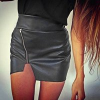 Cheap Tight Leather Mini Skirts | Free Shipping Tight Leather Mini ...