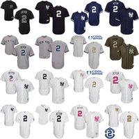 authentic navy - 2017 Grey black white navy Derek Jeter Authentic Jersey Men s Derek Jeter New York Yankees baseball jersey stitched size s xl