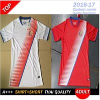 Wholesale 2017 new Costa Rica jerseys America cup costa rica shirts top thai quality BRYAN K WASTON home away jerseys