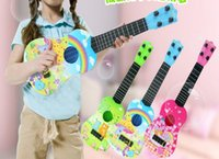 Wholesale Children s toys Colorful large music simulation Guitar children s musical instruments Early education toys gifts Jiapin