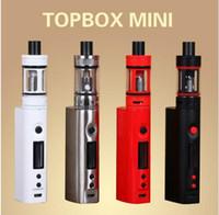 Wholesale TOPBOX MINI temperature control W steam smoke big smoke C nano W mini electronic cigarette case