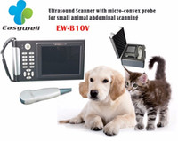 Wholesale A perfect ultrasound diagnostic for pets cats dogs small animals EW V micro convex waterproof bag headlight H1N wear type